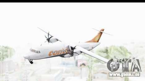 ATR 72-500 ConViasa für GTA San Andreas zurück linke Ansicht