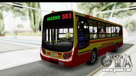 Metalpar Tronador 2 Puertas Linea 324 für GTA San Andreas