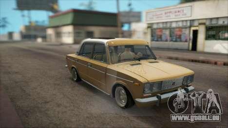 VAZ 2106 Summer für GTA San Andreas Rückansicht