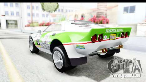GTA 5 Lampadati Tropos Rallye No Headlights pour GTA San Andreas salon