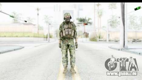 Croatian Soldier pour GTA San Andreas deuxième écran