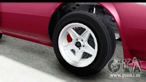 GTA 5 Lampadati Tropos Rallye No Headlights für GTA San Andreas Rückansicht