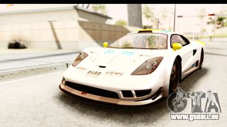 GTA 5 Progen Tyrus IVF pour GTA San Andreas roue