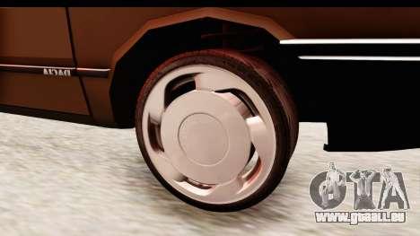 Dacia 1310 LI pour GTA San Andreas vue arrière