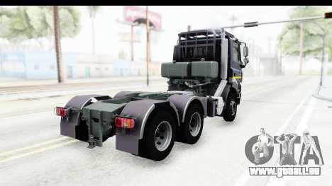 Tatra Phoenix Agro Truck v1.0 pour GTA San Andreas sur la vue arrière gauche