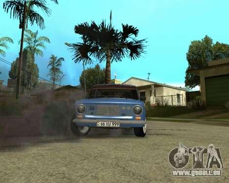 VAZ 2101 Arménie pour GTA San Andreas vue intérieure