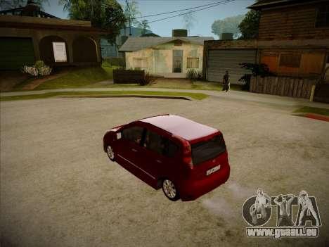 Nissan Note 2008 pour GTA San Andreas vue de droite