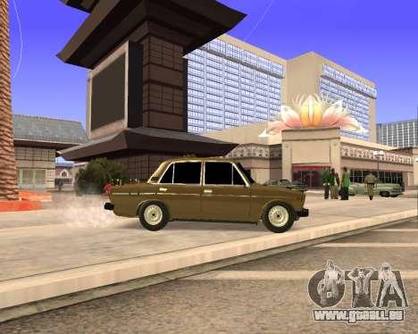 VAZ 2106 Armenian für GTA San Andreas obere Ansicht