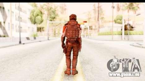 Homefront The Revolution - KPA v2 Captain pour GTA San Andreas troisième écran