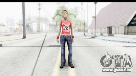 Silent Hill 3 - Heather Sporty Red Duff Beer für GTA San Andreas zweiten Screenshot