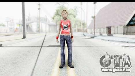 Silent Hill 3 - Heather Sporty Red Duff Beer pour GTA San Andreas deuxième écran