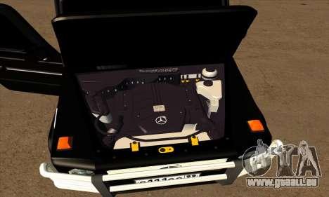 1999 Mercedes-Benz G55 AMG Brabus für GTA San Andreas Unteransicht