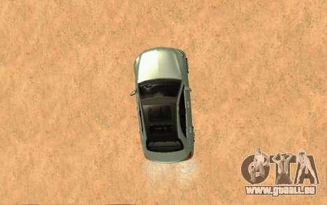 Mercedes-Benz C250 Armenian pour GTA San Andreas vue arrière