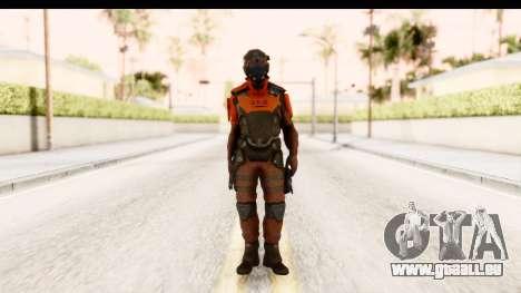 Homefront The Revolution - KPA v2 Red pour GTA San Andreas deuxième écran