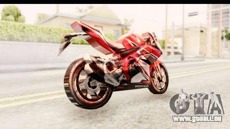 Honda CBR250RR für GTA San Andreas rechten Ansicht