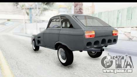 IZH Combi v2 pour GTA San Andreas sur la vue arrière gauche