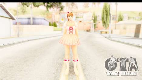 DoA 5 - Ultimate Kasumi Pop Idol Team D für GTA San Andreas zweiten Screenshot