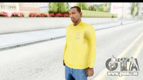 I Feel Like Kobe Sweatshirt pour GTA San Andreas deuxième écran