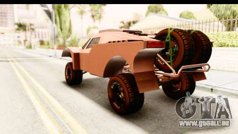 GTA 5 Desert Raid SA Lights PJ pour GTA San Andreas laissé vue