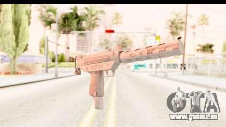 RE2 - Machine Gun für GTA San Andreas zweiten Screenshot