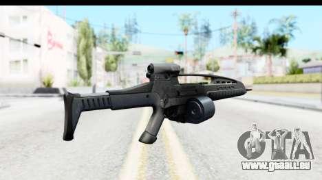 H&K XM8 Drum Mag für GTA San Andreas zweiten Screenshot