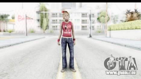 Silent Hill 3 - Heather Sporty Red Silent Hill pour GTA San Andreas deuxième écran