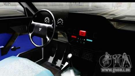 Tofas Dogan pour GTA San Andreas vue intérieure