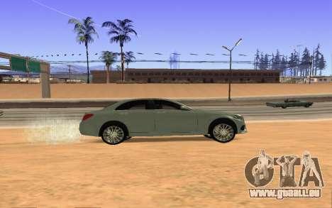 Mercedes-Benz C250 Armenian pour GTA San Andreas vue de droite