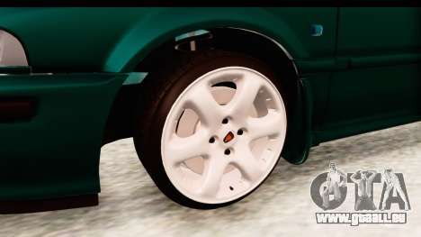 Rover 220 für GTA San Andreas Rückansicht