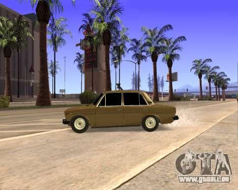 VAZ 2106 Armenian für GTA San Andreas Innen