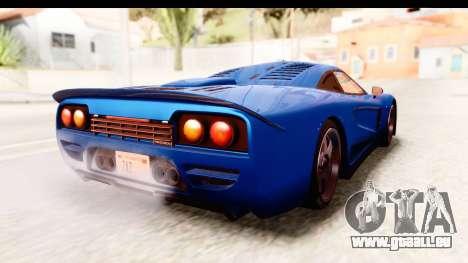 GTA 5 Progen Tyrus IVF für GTA San Andreas zurück linke Ansicht