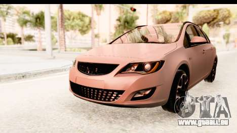 Opel Astra J Tourer für GTA San Andreas rechten Ansicht