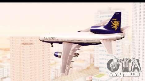 Lockheed L-1011-100 TriStar Caledonian pour GTA San Andreas laissé vue