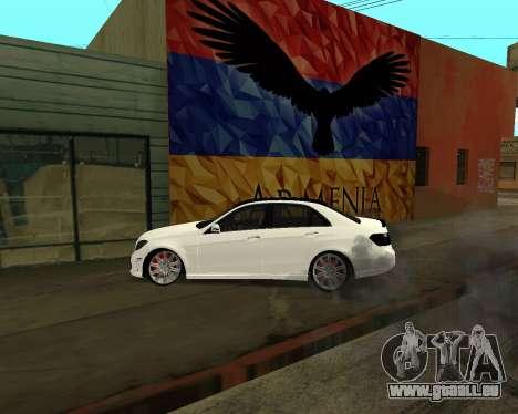 Mercedes-Benz E250 Armenian pour GTA San Andreas moteur