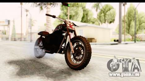 GTA 5 Western Cliffhanger Custom v1 IVF für GTA San Andreas
