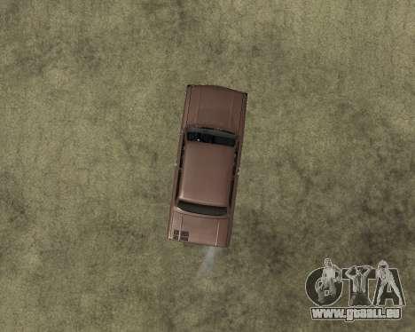 ZAZ 968M Arménie pour GTA San Andreas vue arrière