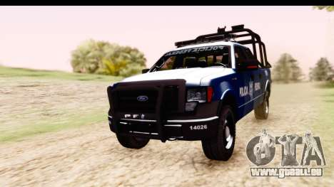 Ford F-150 Policia Federal pour GTA San Andreas