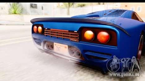 GTA 5 Progen Tyrus IVF pour GTA San Andreas vue de côté