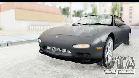 Mazda RX-7 4-doors Fastback für GTA San Andreas