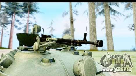 T-62 Wood Camo v1 pour GTA San Andreas vue arrière