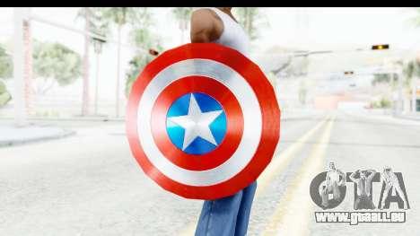 Capitan America Shield AoU pour GTA San Andreas troisième écran