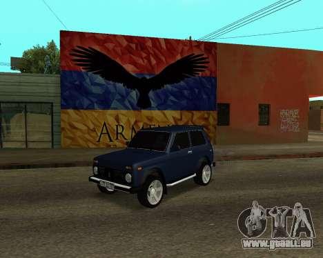 Niva 2121 Armenian für GTA San Andreas