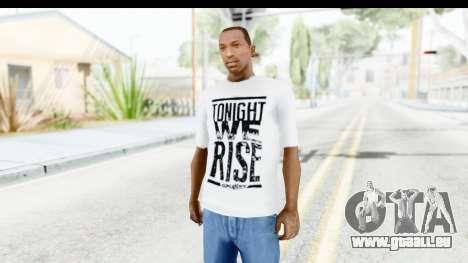 Skillet T-Shirt pour GTA San Andreas