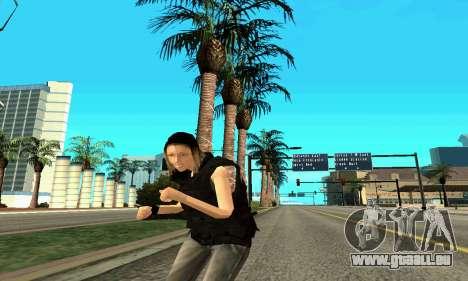 Female SWAT-trainer für GTA San Andreas siebten Screenshot