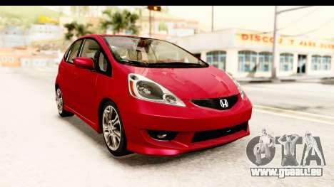 Honda Fit Sport 2009 für GTA San Andreas