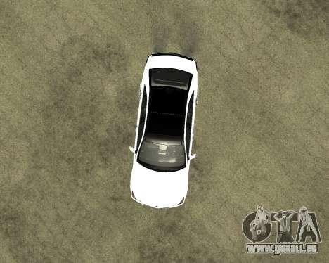 Mercedes-Benz E250 Armenian für GTA San Andreas Seitenansicht