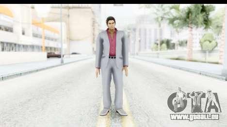 Yakuza 5 Kazuma Kiryu für GTA San Andreas zweiten Screenshot