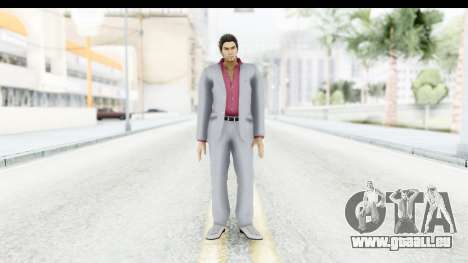 Yakuza 5 Kazuma Kiryu pour GTA San Andreas deuxième écran