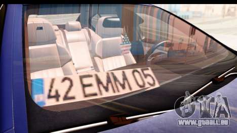 BMW M5 F10 für GTA San Andreas obere Ansicht