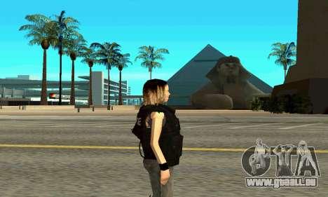 Female SWAT-trainer für GTA San Andreas zweiten Screenshot